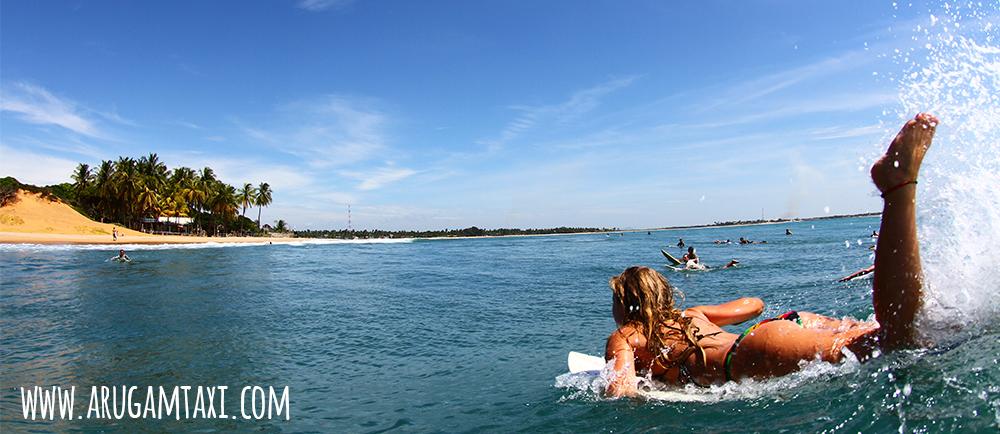 arugam bay main point surfing
